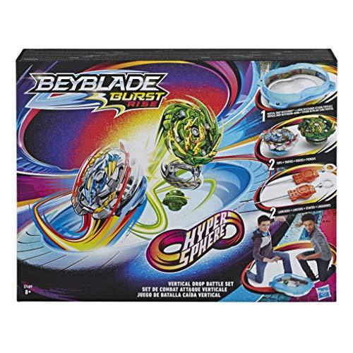 Beyblade Estadio Hypersphere Caida Vertical, edad recomandada: 4 años y más (Hasbro E7609EU4)