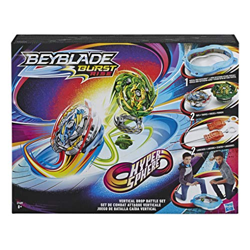 Beyblade Estadio Hypersphere Caida...