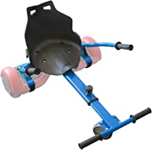 Hovercart Universal Hover Board Go Kart with Adjustable Length Compatible with Most Hoverboard Self Balancing Scooters for...
