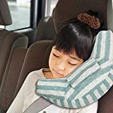 Accessori Seggiolini Auto per Bambini, Adattatore per auto Cuscino per cuscino per bambini,sicurezza in auto per bambini cuscino spalla cuscino cintura (blue-1)