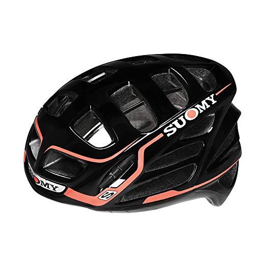 SUOMY GUNWIND - Casco para Bici, Multicolor (Black/Red), L (59-62)