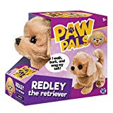 Westminster, Inc. Redley the Retriever - Cute, Cuddly, Plush Battery Operated Dog Toy Walks, Wiggles, and Barks with Sound