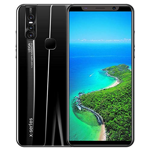 NA X27/X27 PLUS HD Screen Face Recognition Smart Phone with Octa Core Processor 4G+64G black X27 Plus U.S. regulations