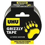 UHU Grizzly Tape Ruban Adhésif Ultra Fort et Durable, 100 % Résistant à l'eau - 10 m