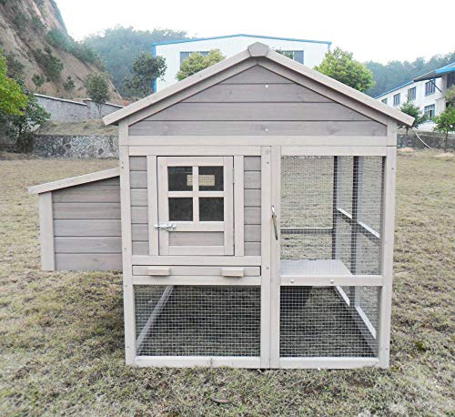 """Hühnerstall Hühnerhaus Chickenhouse Nr. 04 """"Pickerparadies"""" mit Eierbox und Freilauf - 5"""