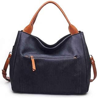 Women's Stylish, Perforated Mika Satchel, Handbag