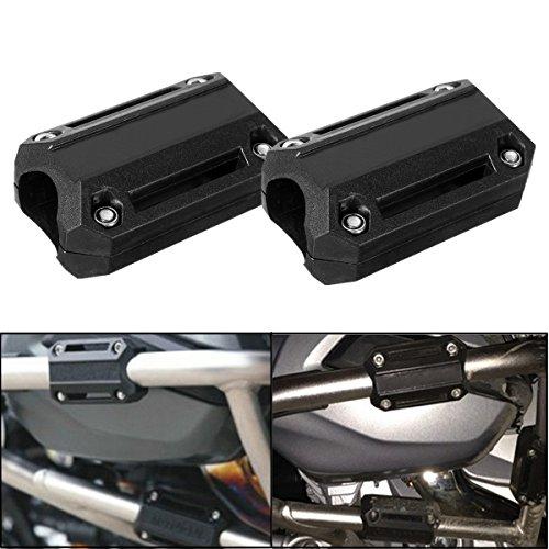 GOZAR Motorfiets Motor Bescherming Bumper Decoratieve Blok 25mm Voor BMW R1200GS