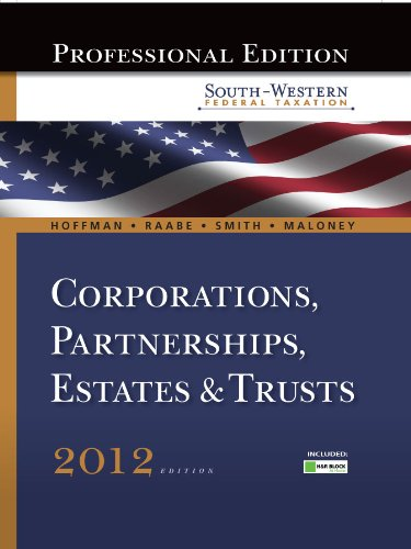South-Western Federal Taxation 2012: Corporations,...