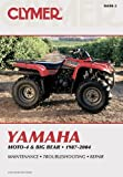 Yamaha Moto-4 & Big Bear 1987-2004 (CLYMER MOTORCYCLE REPAIR)