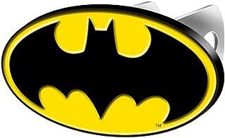 LA Auto Gear Batman Colored Bat Logo DC Comics Cartoon Movie Character Superhero Solid Metal Hitch Plug Receiver Cover