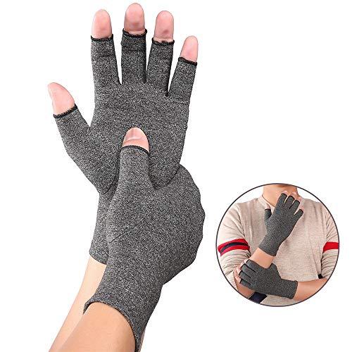 Reumatoide y osteoartritis: los guantes para las manos brindan dolor de las...