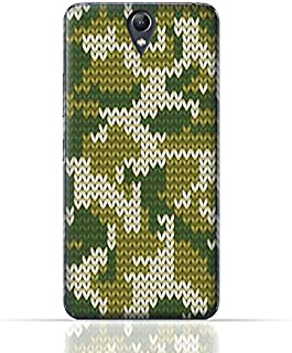 Lenovo Vibe S1 TPU Silicone Case With Knitted Camouflage Pattern Design