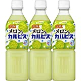 アサヒ飲料 完熟メロン&「カルピス」 500ml ×3本