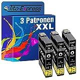 Tito-Express PlatinumSerie - 3 cartuchos de tinta XXL compatibles con Epson T2991 29XL Expression Home XP-235 XP-245 XP-247 XP-255 XP-257 XP-335 XP-345 XP-355 XP-435 XP-445 XP-455 | negro, 18 ml