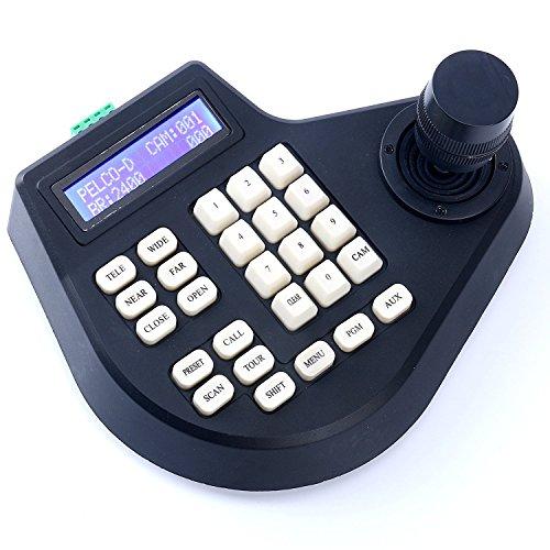 CCTV Joystick Teclado Controlador Pantalla LCD para PTZ Speed Dome Camera Control