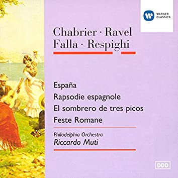 Chabrier/Ravel/Falla/Respighi