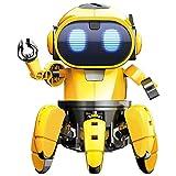 hahuha 🎅 RISHIL World Pro'sKit GE-893 Dampf DIY AI Smart RC Roboter Infrarot Roboter Spielzeug