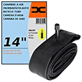 cyclingcolors Chambre A AIR Velo 14 x 1,75-2,125' (47/57-254) Valve Schrader 35MM VTT Route