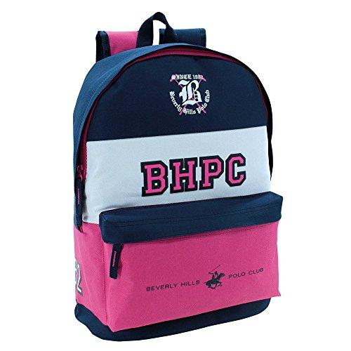 Beverly Hills Polo Club 5282351 Mochila Escolar, 21.5 litros, Multicolor