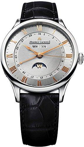 Maurice Lacroix Maurice Lacroix Meisterwerk Phase De Lune Mens Watch MP6607-SS001-111