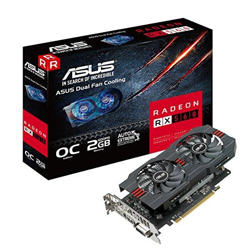 ASUS Radeon RX 560 OC Edition 4GB