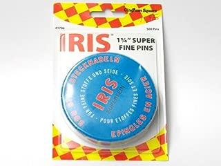 Iris Swiss Superfine Pins 500