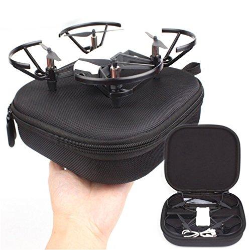 Hensych Funda de transporte portátil pequeña bolsa de almacenamiento de viaje funda protectora para Tello Drone y accesorios