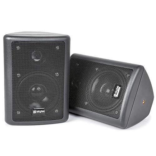 Skytec 100015 - Conjunto de altavoces stereo negro 75w