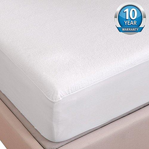 Tofern, coprimaterasso di lusso lenzuolo con gli angoli in cotone robusto per materassi spessi dai 5 ai 35 cm