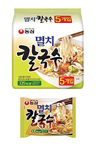 韓国うどん 煮干し カルグクス ミョルチ カルグッス 5食入り | 韓国ラーメン ノンフライ 平麺 멸치칼국수
