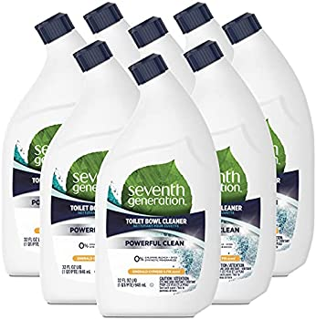 8-Pack Seventh Generation Emerald Cypress & Fir Scent Toilet Bowl Cleaner