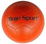 Boje Sport Soft-Fußball mit Elefantenhaut, Größe 3, Ø 19 cm Gewicht ca. 300 g, Farbe: orange