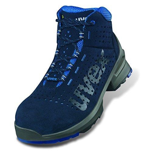 Uvex 1 Bota de Seguridad S1 SRC | Zapato Profesional de Trabajo | Punta Antiaplastamiento de Composite | Azul