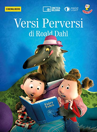 Versi perversi di Roald Dahl. DVD. Con Libro (Cinemalibero)