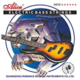 Best Bass Guitar Strings - Alice Electric Bass Guitar Strings 4-string Sets Medium Review