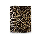 Tadpoles Super Soft Leopard Baby Blanket, Perfect Animal Print, Cheetah Blanket for Bed, Couch, Travel, 30x40
