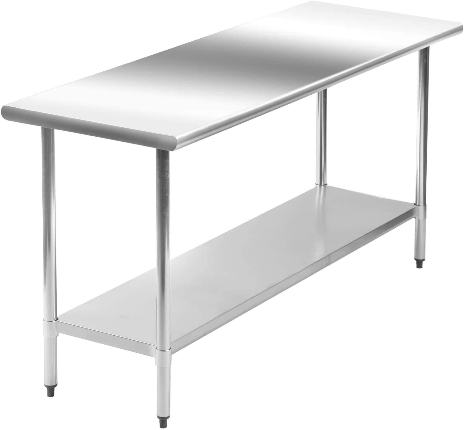 NSF Stainless Steel Commercial Ranking TOP12 Kitchen Work Metal NEW before selling Prep Table