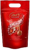 Lindt LINDOR Kugeln Vollmilch | 1 KG Beutel | ca. 80 Kugeln Milch-Schokolade mit zartschmelzender Füllung | Ideales...