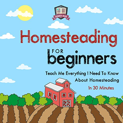 Homesteading for Beginners audiobook cover art