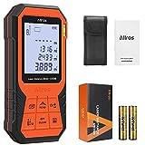 ALLROS Télémètre Laser 100M Numérique Portable compact avec grand écran LCD rétro-éclairé...
