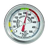 TFA Dostmann BBQ Thermometer, 14.1029, zur Garraumtemperaturmessung, für den Grill/Smoker, aus Edelstahl, 18/8