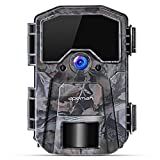 APEMAN Trail Camera 20MP 1080P Wildlife Camera, Night Detection Game Camera with No Glow 940nm IR...