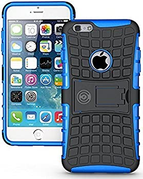 iPhone 6 Plus Case iPhone 6 plus or 6S Plus Armor cases 6 plus Tough Rugged Shockproof Armorbox Dual Layer Hybrid Hard or Soft Slim Protective Case by Cable and Case by Blue Armor Case