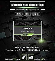 ACHICOO ソリッドステートドライブ 内蔵ディスク TR200 240G 480G 960G 2.5インチ SATA III PCラップトップ用 960GB