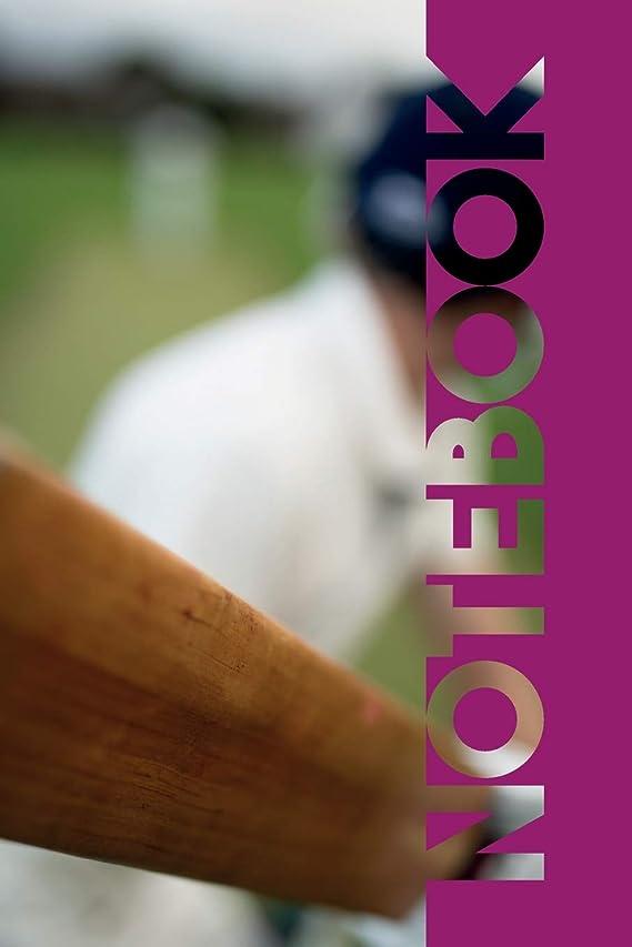 肯定的茎部族Notebook: Cricket Bat Colorful Composition Notebook for Fast Bowlers