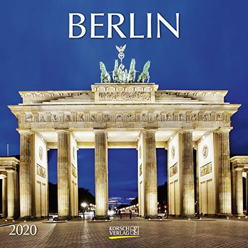 Berlin 2020: Broschürenkalender mit Ferienterminen