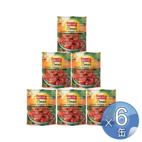 Menu セミドライチェリートマト・オイル漬け 800g 6缶セット