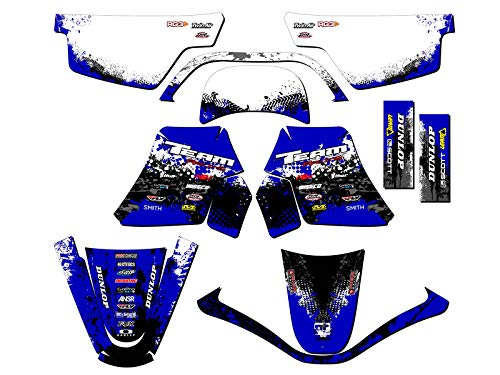Team Racing Graphics kit compatible with Yamaha All Years PW 50, SCATTER