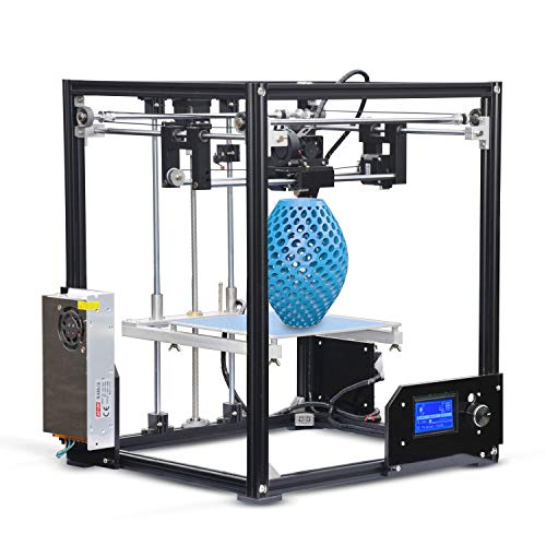 L.J.JZDY Imprimante 3D Imprimante 3D Haute Performance Bricolage 3D Haute Performance 210 x 210 x 280 mm Imprimante 3D Haute précision