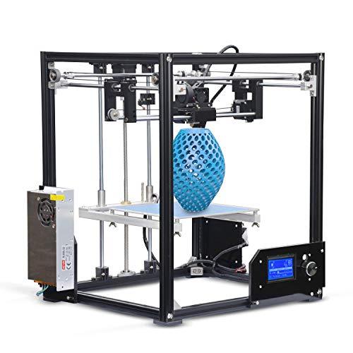 H.Y.FFYH Imprimante 3D Imprimante 3D Haute Performance Bricolage 3D Haute Performance 210 x 210 x 280 mm Imprimante 3D Haute précision